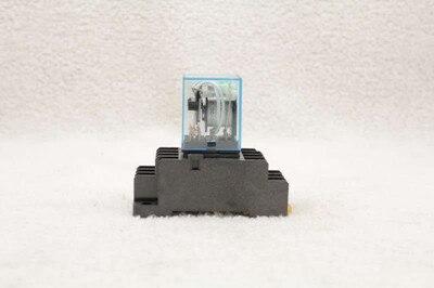 10 conjunto de 220 v ac bobina power relay my3nj 5a com pyf11a base