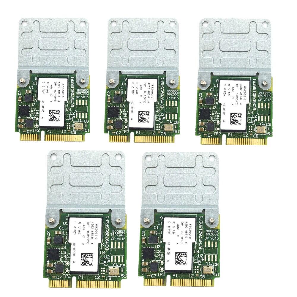 5 pz/set Nuovo Broadcom BCM970015 70015 di Cristallo Decoder Video HD Mini PCI E Adattatore 1080 p AW VD920H-in Modem 3G da Computer e ufficio su  Gruppo 1
