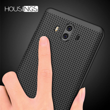 Ultra Slim Phone Case For Huawei P20 10 9 Pro Hollow Heat Dissipation Cases Hard PC Honor 7A 7C 7X Lite 8 Edge