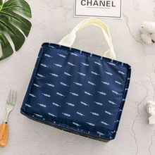 купить Functional Pattern Cooler Lunch Box Portable Insulated Canvas Lunch Bag Thermal Food Picnic Lunch Bags For Women Kids H по цене 225.35 рублей