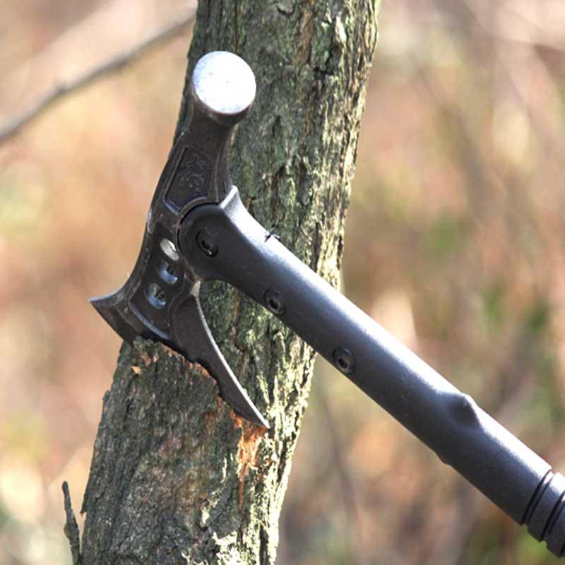 Hohe Qualität Outdoortactical Axt Tomahawk Armee Outdoor Jagd Camping Überleben Machete Axesmountain Axt/multi-funktionale Axt Durchsichtig In Sicht Axt Werkzeuge