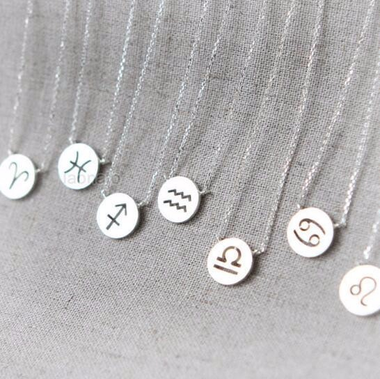 Pretty Zodiac Constellation Signs Necklaces (12 Constellation)
