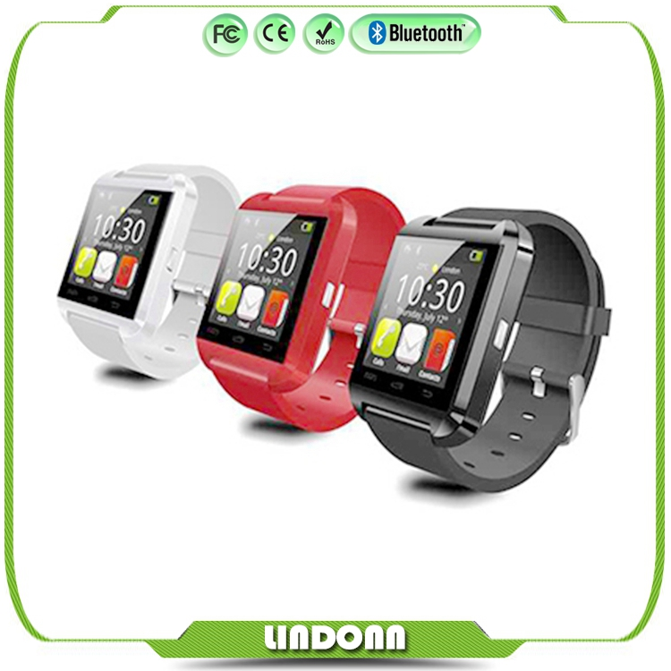 Bluetooth font b Smartwatch b font U8 U Watch Smart Watch Wrist Watches for iPhone 4