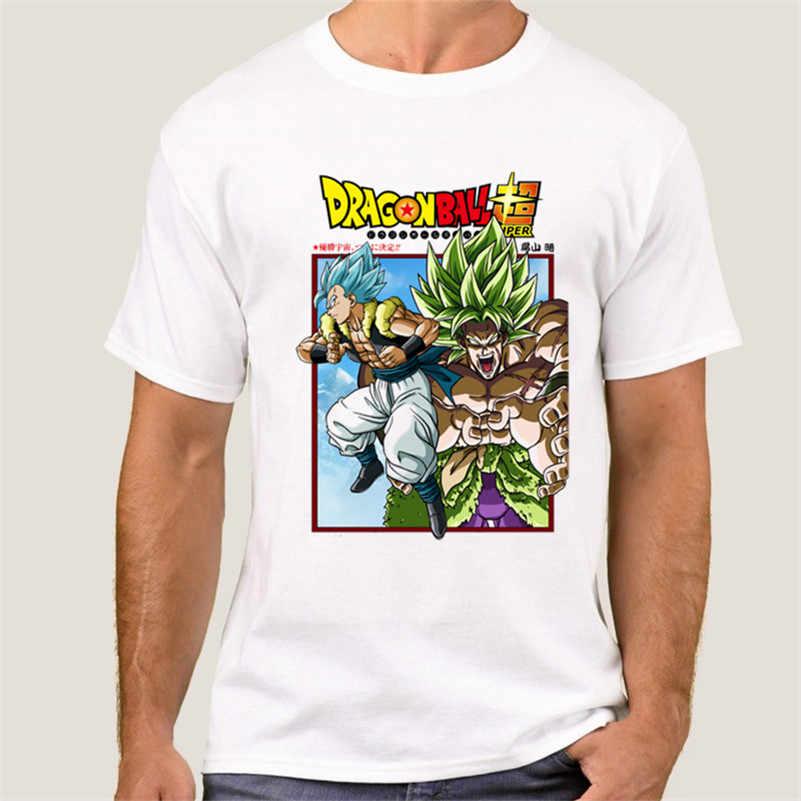 Летняя футболка с драконом и мячом Z, мужские футболки с круглым вырезом и коротким рукавом, футболки с героями комиксов Сон Гоку, футболки для мужчин, 011