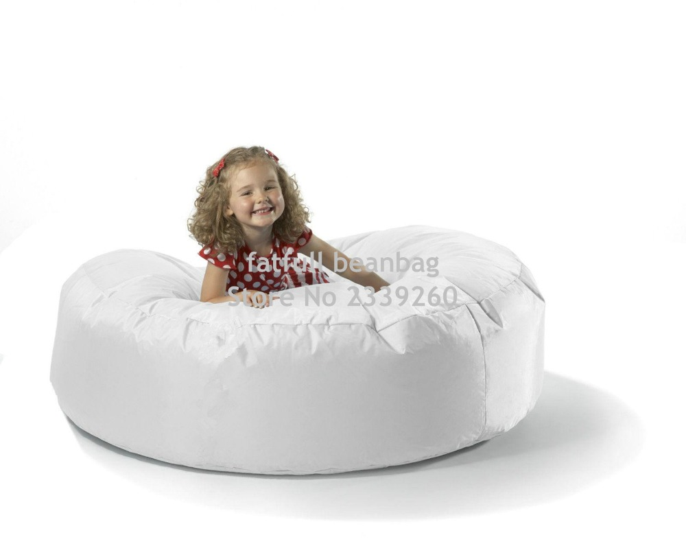 Superb Us 45 0 Cover Only No Filler White Round Island Bean Bag Chair Outdoor Sofa Cover Children Funny Chair Happy Sofa Beanbag In Bean Bag Sofas From Gamerscity Chair Design For Home Gamerscityorg