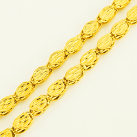 Ethiopische Sieraden Dikke Ketting Kettingen Goud Kleur Afrika Eritrea Habesha Chunky Chain/Dubai/Arabische voor Mannen Gift