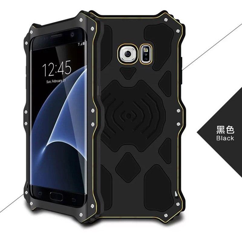 Цена за Galaxy S7 край чехол Любовь Мэй MK2 серии Luxury металла алюминиевая противоударный чехол для Samsung Galaxy S7 край