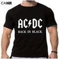 2016 Nueva Camisetas AC/DC acdc banda de rock Camiseta Para Hombre Gráfico camisetas Imprimen la Camiseta Ocasional Más El Tamaño Del Cuello de O Hip Hop Corto manga