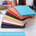 "Luxury Business Pu leather stand case cover Shield for Samsung Galaxy Tab S2 T710 T715c 8.0"" Tablet With Hard Shell"