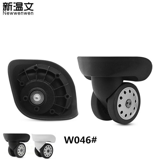 Replacement Luggage Wheels,Repair Rubber Luggage Trolley wheel accessories, Repair Spinner wheels for Suitcases W046#