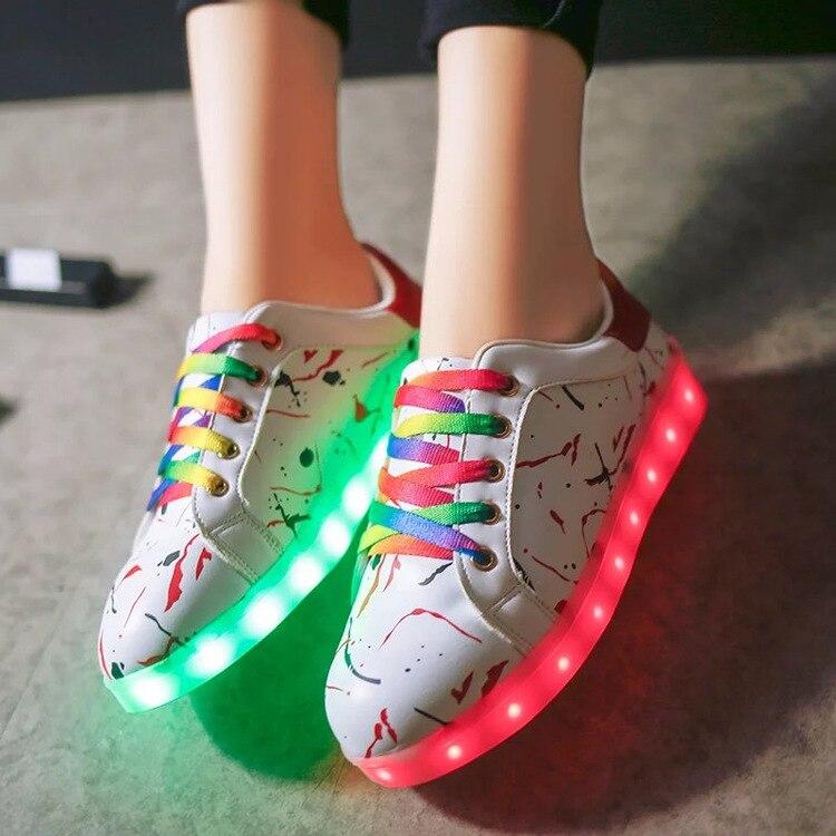 font b Children b font Fluorescent font b Shoes b font font b Led b