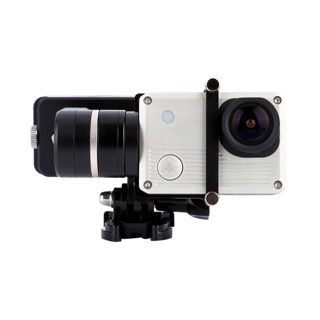 2 Axis Wearable Camera Gimbal Stabilizer for GoPro HERO4 /3+ /3 Sport Camera