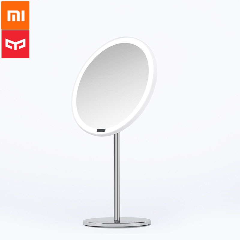 Xiaomi Yeelight Makeup Mirror Smart Induction High definition Silver plated Mirror Professional grade Makeup Tool