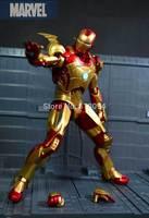 Super-heróis Os Vingadores Homem De Ferro 3 Mark 42 PVC Action Figure Model Collection Toy 7