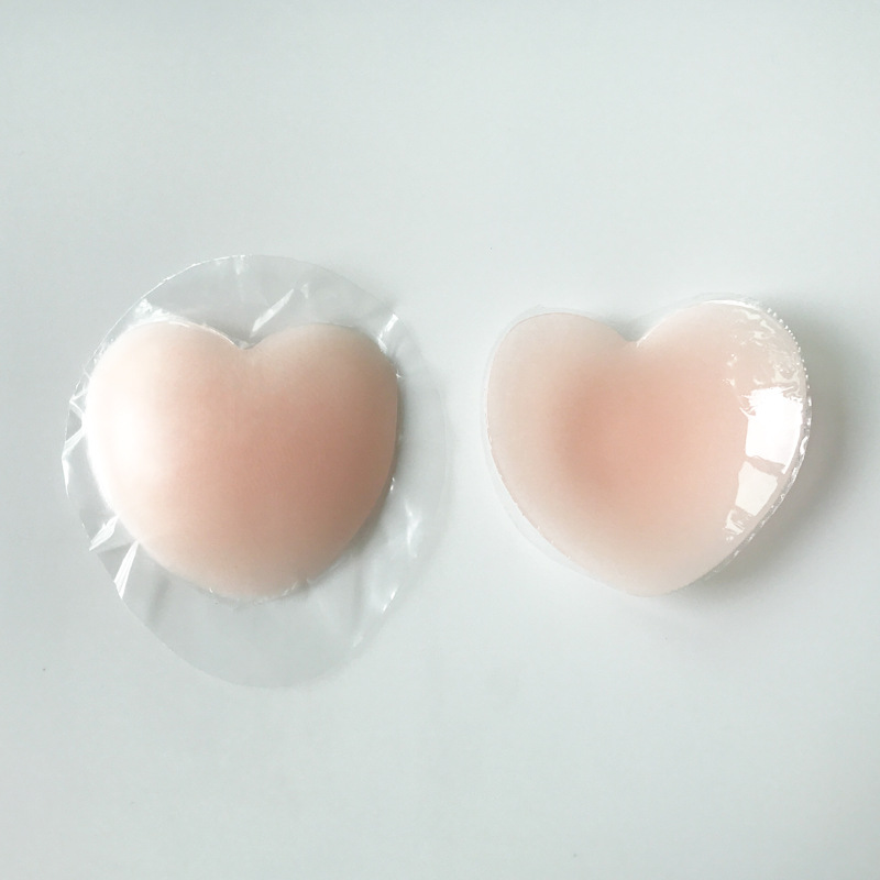Hirigin Adult Women Fake Nipple Stickers Simulation Sexy Silicone Bras Nipple Chest Paste