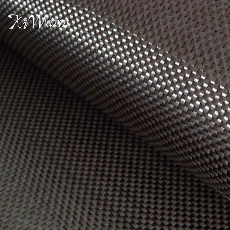 KiWarm Hot New 0.25mm Thickness 3K 200gsm 1mx1m High Strength Carbon Fiber Cloth For Interlayer Car Parts Sport Equipments