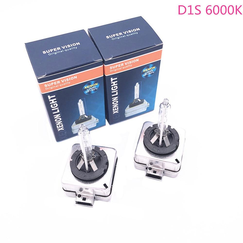 2PCS HID Xenon Bulb D1S 12V 4300k 6000k for Buick Enclave 2007-2014 for Peugeot 408 2009-2013 508 2011-2014