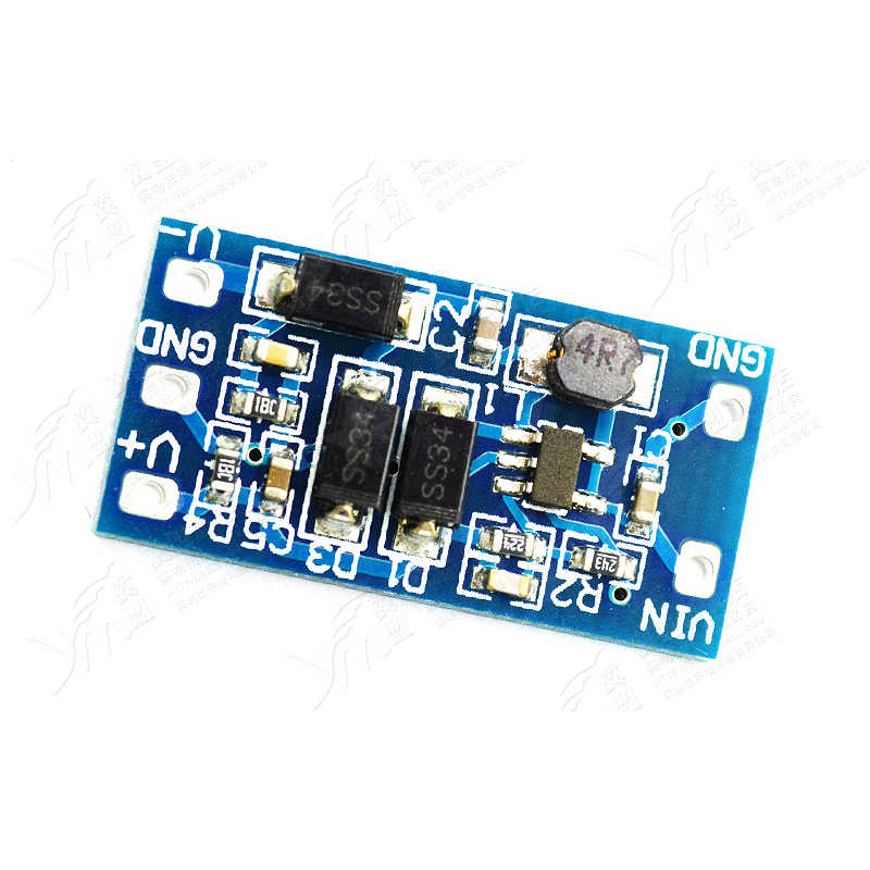 1PCS DC DC Converter Board Power Module 2 8V - 5 5V Input Positive and  Negative 12V Output 5V to 12V