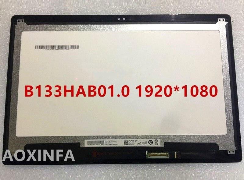 13.3 pour Inspiron 13 5368 5378 7378 7368 LCD Écran + Tactile Digitizer Assemblée B133HAB01.0 FHD