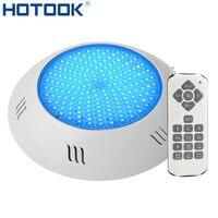 Hotook luz para piscina  luz de natação  à prova d' água  ip68  foco  led  ac/dc 12v/24v luz submarina de led