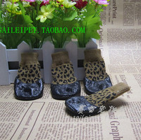 Meias sapatos Pet algodão sapatos antiderrapante à prova d ' água pelúcia cães pequenos sapatos