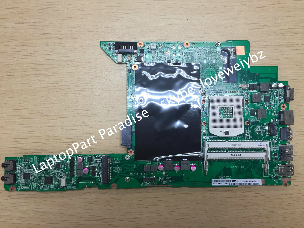 Brand New For Lenovo Ideapad Z370 Laptop Motherboard DAKL5MB16G0 Notebook Mainboard brand new for lenovo b470 laptop motherboard 48 4kz01 021 mainboard
