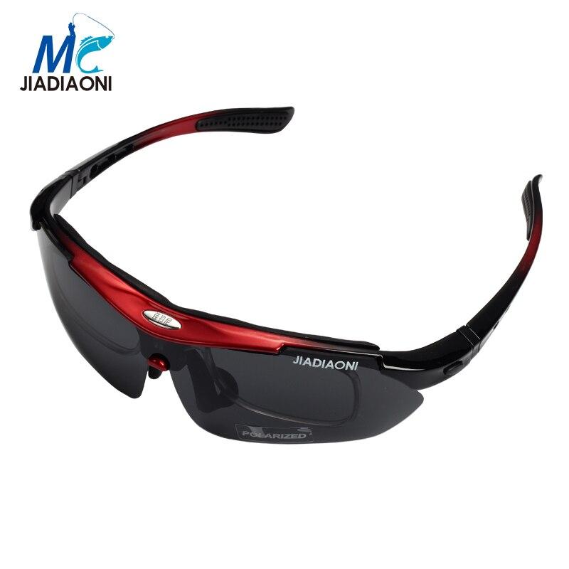 JIADIAONI Polarisées lunettes de Soleil Hommes Sport En Plein Air Soleil Lunettes Pour Conduite Pêche Golf Lunettes De Soleil Hippie Essentiel
