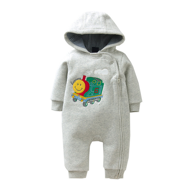 879a20028 2018 New Brand Baby Boy Clothing Autumn Winter Warm Baby Rompers ...