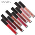 FOCALLURE Liquid Lipstick Hot Sexy Colors Lip Paint Matte Lipstick Waterproof Long Lasting Lip Gloss Lip Kit