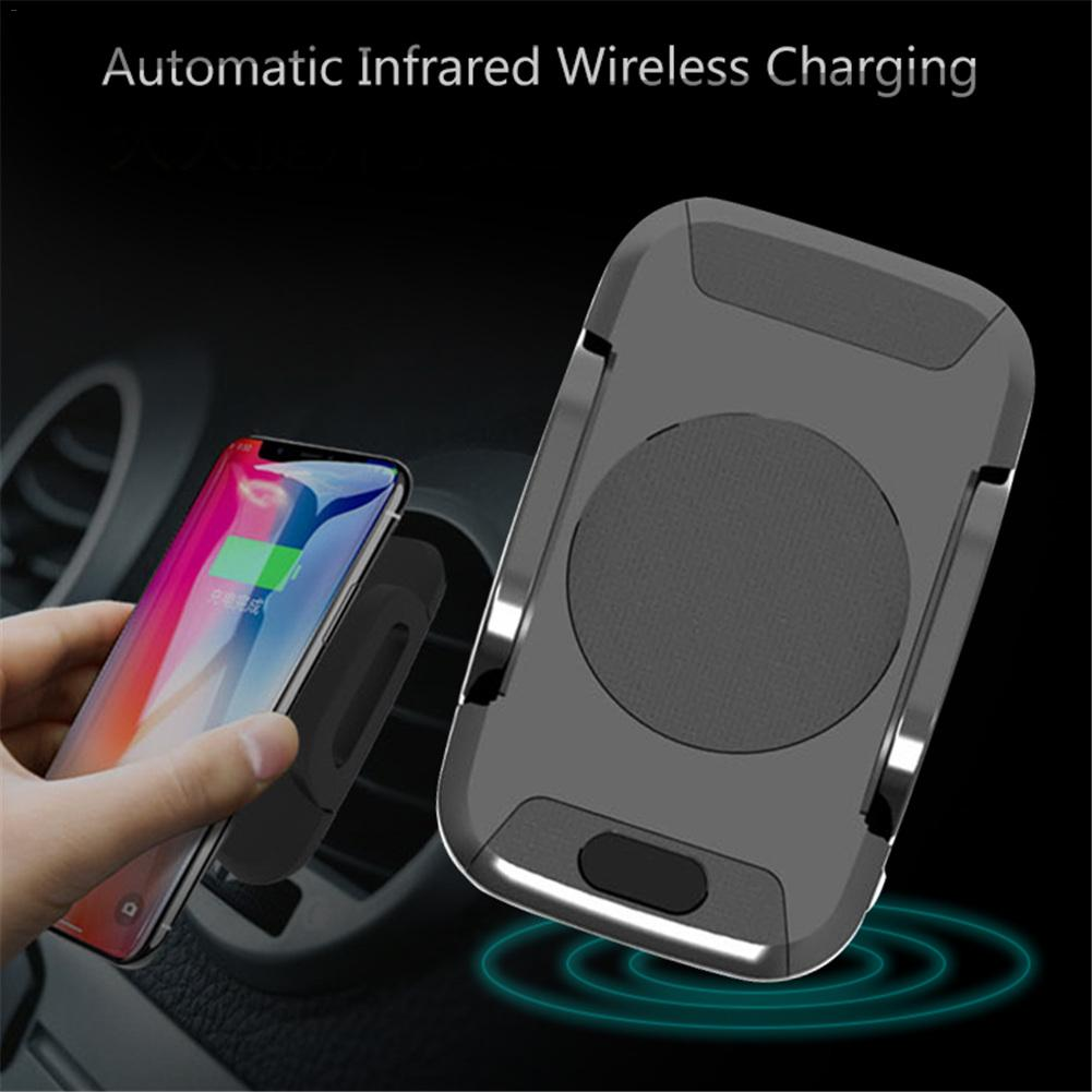 C2 Automatic Infrared Sensor Car Wireless Charging Adapter Car Wireless Charger