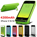 Battery Charger Case for iPhone 5 Power Bank Extended Battery Charging Case for iPhone SE External Power Battery Back Case Cover