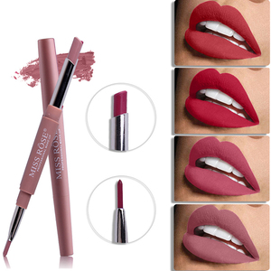 Miss Rose Top Brand Lip Liner Matte Lip Pencil Long-lasting Waterproof Moisturizing Lipsticks Makeup Sexy Lips Contour Cosmetics(China)