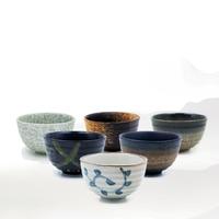 550ml Japan Coarse Pottery Matcha Bowl Green Tea Maker Cup Glaze Teacup Kung Fu Tea Set Master Cup Creative Vintage Home Decor