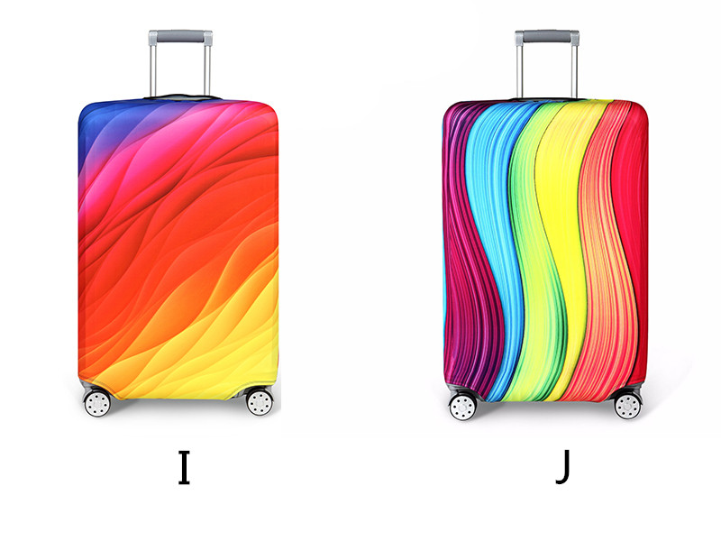 Thicker Travel Luggage Protective Cover Suitcase Case Travel Accessories Elastic Luggage Dust Cover Apply to 18''-32'' Suitcase 10