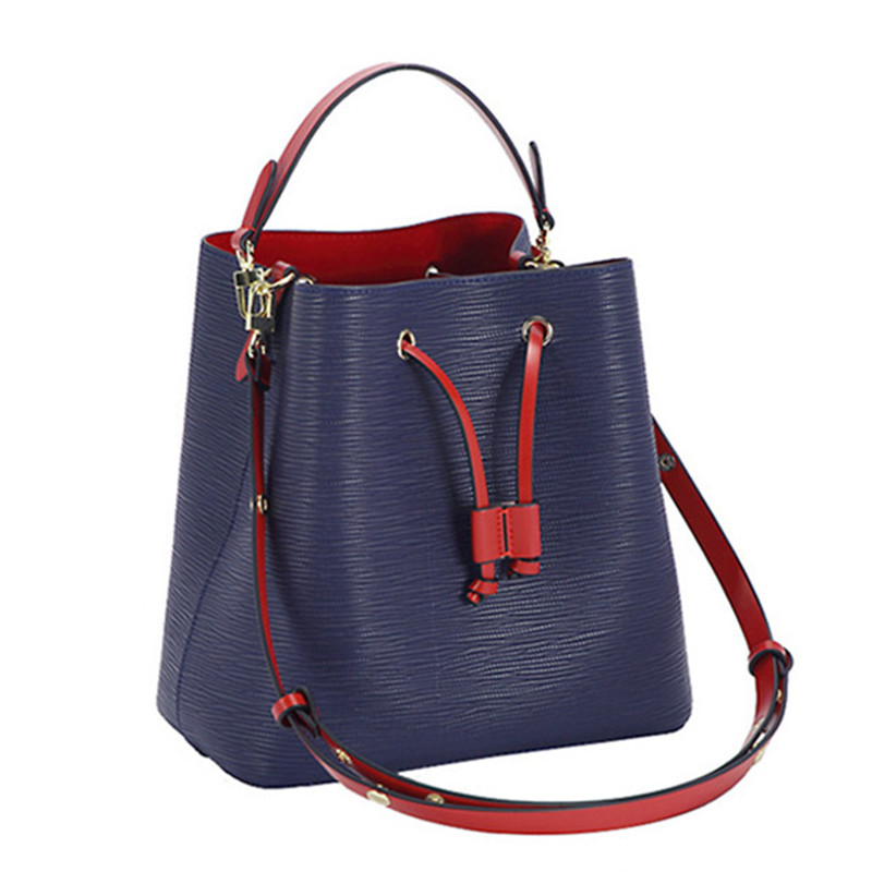 2019 New Fashion Bucket High Quality Large Capacity Casual Totes Shoulder Messenger Bags Famous Designer Women Purse And Handbag