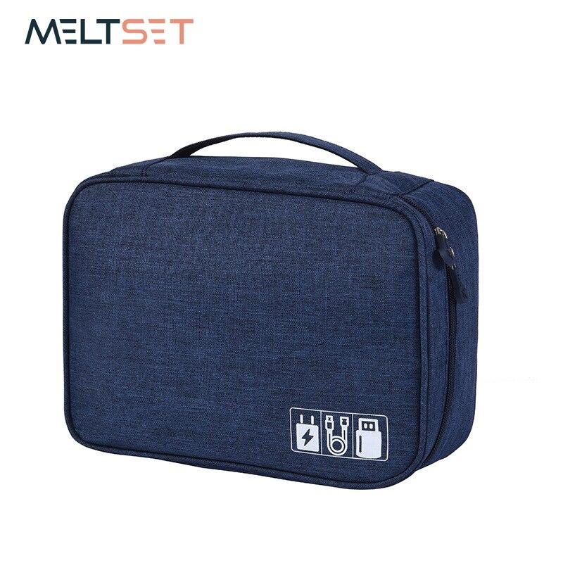 Wasserdichte Kabel Organizer Travel Gadget Lagerung Tasche Elektronik Geräte Zubehör Fällen USB Ladegerät Halter Digitals Kit Tasche