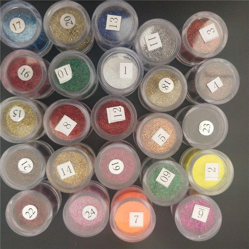 1PCS Nail Glitter Dust 10ml 0 2mm HOLO Glitters 0 2mm 1 128 008 Nail Chrome Pigment Powder for Gel Nail Polish Nail Glitters 1 in Nail Glitter from Beauty Health