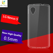 Transparent New Protector Case For LG Google Nexus 5 TPU back cover + For LG Google Nexus 5 Case phone