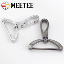 2016 New Replacement Luggage Metal Handbags Male Bag Hook Clasp Dog Silver Hardware Accessories Clip Buckles