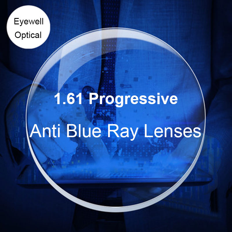007c581284d BAONONG Anti Blue Ray Lens 1.61 Progressive Prescription Optical Lens  Glasses Lens For Eyes Protection Reading Eyewear-in Accessories from  Apparel ...