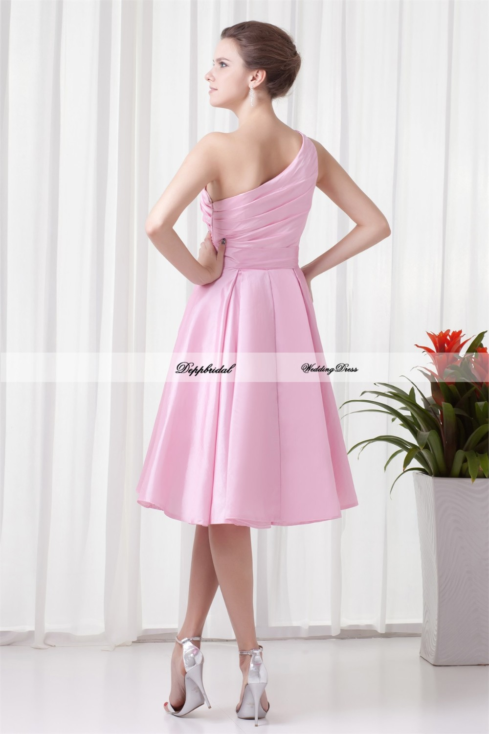 Handmade-Flower-s-A-Line-Tea-Length-One-Shoulder-Bridesmaid-Dresses-22708-80843