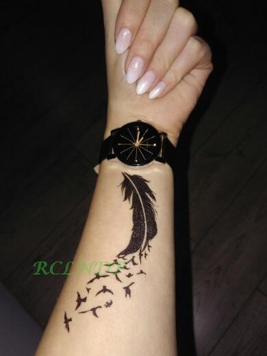 Cuckold Bird : cuckold, Cuckold, Symbol, Temporary, Tattoo, ANKLE, WRIST, BREAST, ETC...