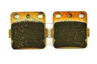 Free Shipping Organic Brake Pads For Front YAMAHA ATV YFM 450 Grizzly 4x4 2011 2014 YFM