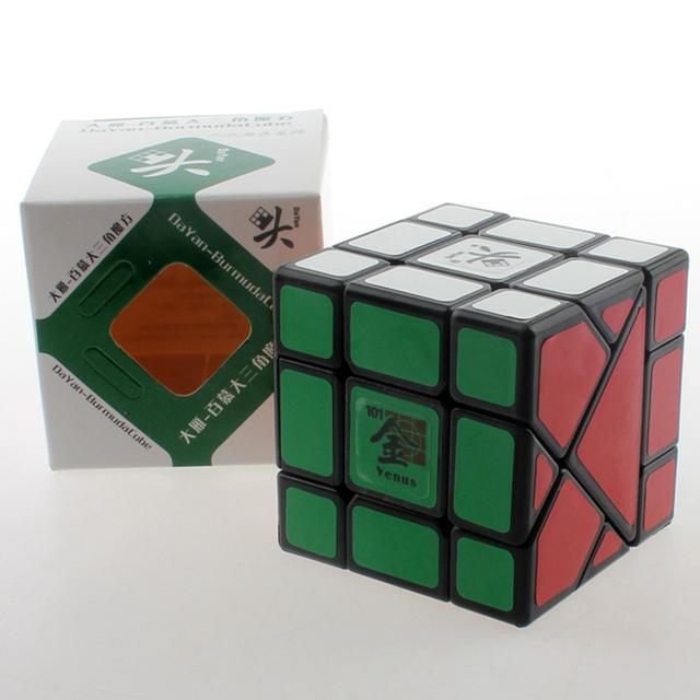 A Estrenar 57mm Dayan Bermudas Triángulo Planeta Venus Cubo Mágico Speed Puzzle Cubos De Juguetes para Los Niños del cabrito