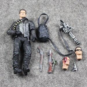 Image 3 - 17cm NECA Terminator 2 T 800 aksiyon figürü Pescadero kıyamet günü hastane bebek PVC Model oyuncak
