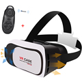 Google Cardboard VR BOX CASE  Pro Version Virtual Reality 3D Glasses Game Movie For 3.5 - 6.0 inch Phones with remote control