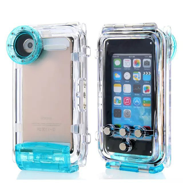 2016 High Quality Diving Case for iPhone5 5s Se Plastic Waterproof Phone Bag Cover for ! Underwater Photography