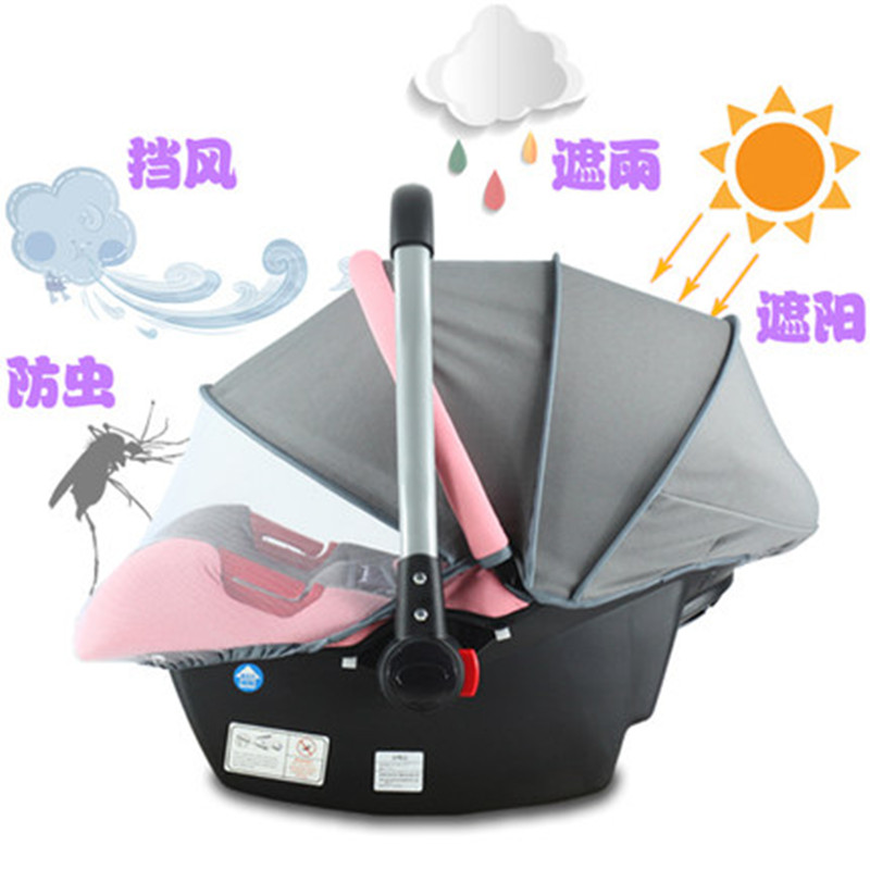 Basket type vehicle safety seat for children newborn baby 0-1 years old baby cradle for automobile basket style baby newborn baby child safety seats or automobile seat 3c