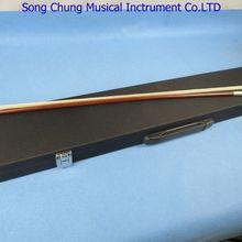 Крепкий черный чехол для скрипки с бантом для 6 держателей