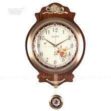 European large living room wall clock movement CAV copper swing quartz watch modern minimalist garden clock